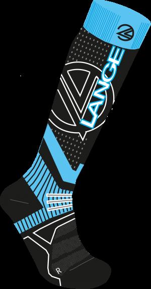 Lyžiarske termoponožky Lange W woll & silk x3 blue