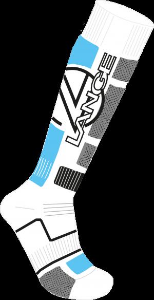 Lyžiarske termoponožky Lange W Premium Wool x3 blue