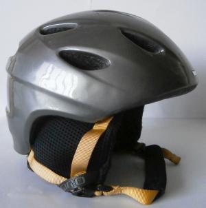 Lyžiarska prilba BAZÁR Giro Silver/ Yellow S