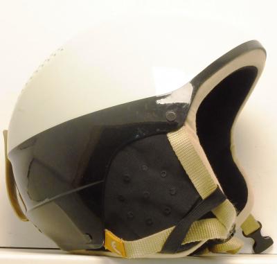 Lyžiarska prilba BAZÁR Head White/Yellow M