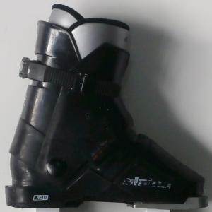 Detské lyžiarky BAZÁR Alpina Black 205