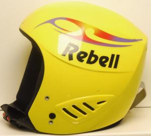 Lyžiarska prilba BAZÁR Rebell Yellow XS-50