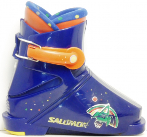 Detské lyžiarky BAZÁR Salomon Blue 1 160