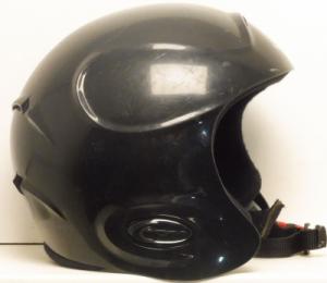 Lyžiarska prilba BAZÁR Powder Black Matt M56*