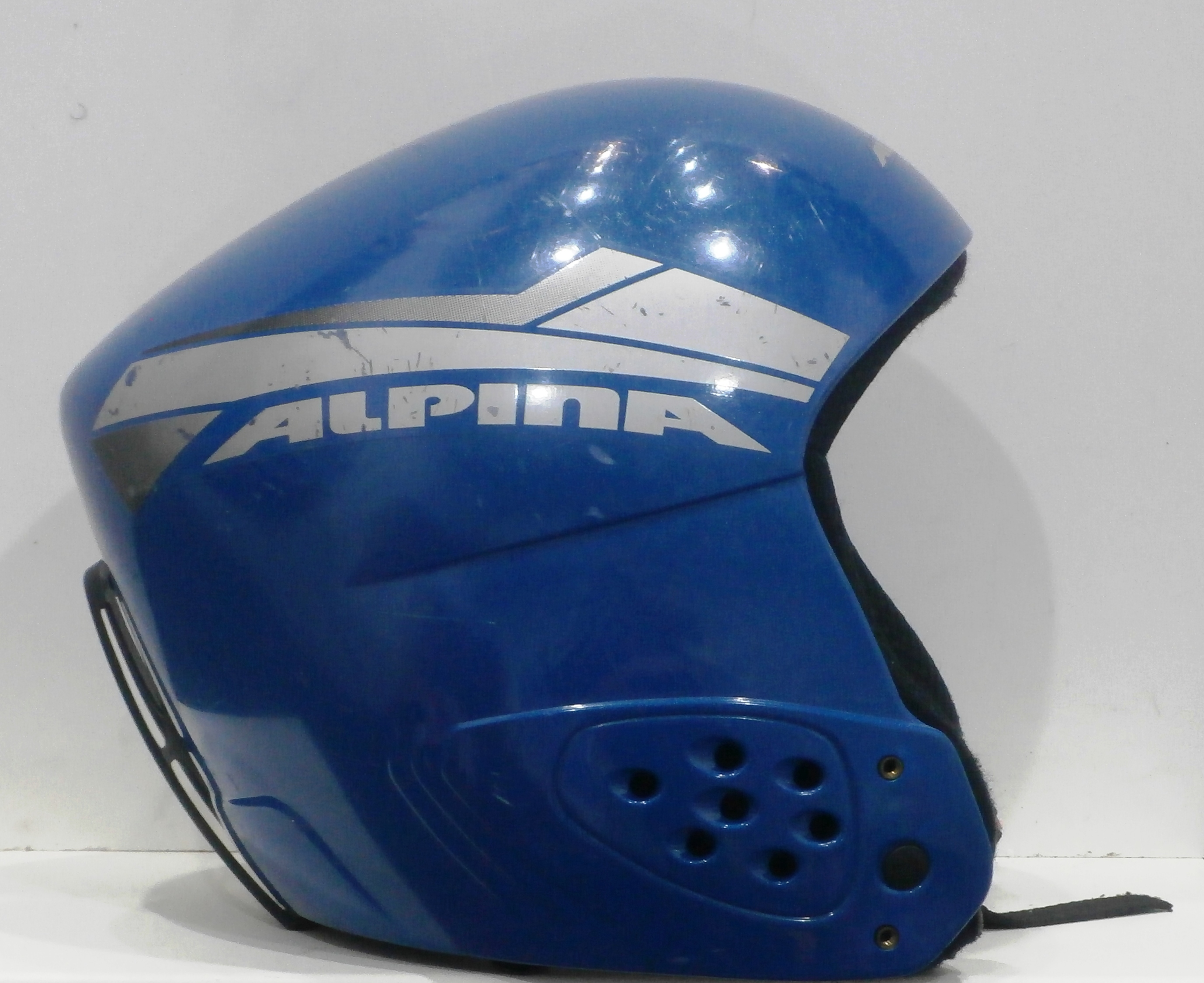 Lyžiarska prilba BAZÁR Alpina Blue 48-50 39e778397c4