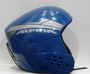 Lyžiarska prilba BAZÁR Alpina Blue 48-50