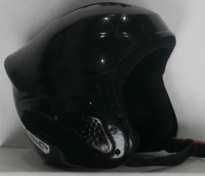 Detská lyžiarska prilba BAZÁR Rebell Black 55